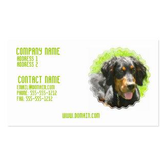 Gordon Setter Puppy Business Card