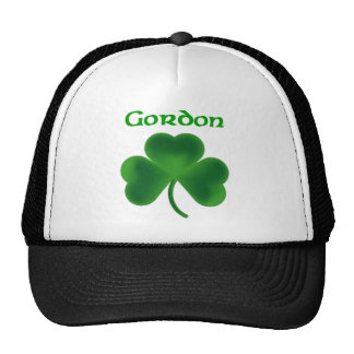Gordon Shamrock Trucker Hat