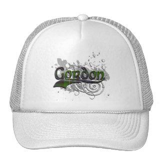 Gordon Tartan Grunge Trucker Hat