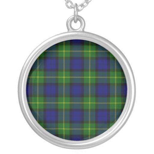 Gordon Tartan Necklace