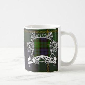 Gordon Tartan Shield Coffee Mug
