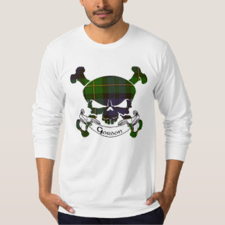 Gordon Tartan Skull T-Shirt