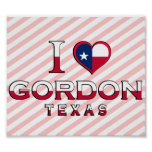 Gordon, Tejas Posters