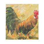 Gordon the Rooster. Unique design just for you Memo Pad