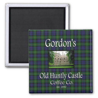 Gordon's Old Huntly Castle Coffee Co. Magnet