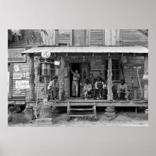 Gordonton, North Carolina: 1939 Poster