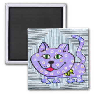 Gordy 2 Inch Square Magnet