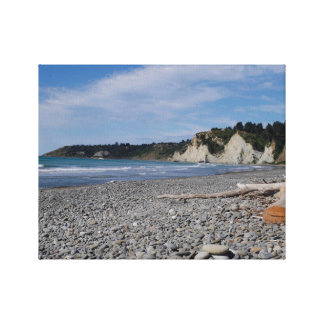 Gore Bay, New Zealand Canvas Print