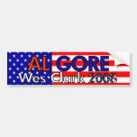 Gore/Clark 2008 Car Bumper Sticker