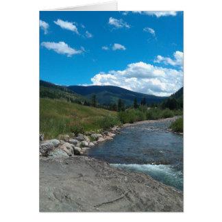 Gore Creek blank notecard