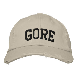 Gore Embroidered Hat Embroidered Baseball Cap