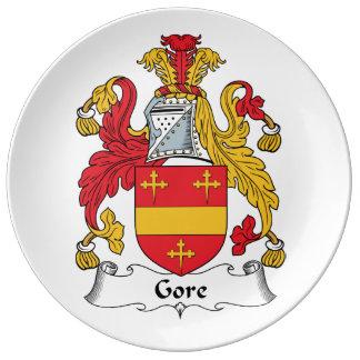 Gore Family Crest Dinner Plate