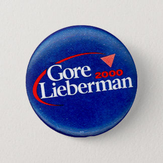 Gore-Lieberman 2000 - Button
