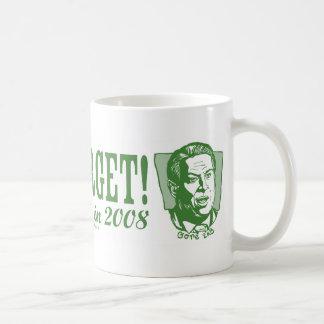 Gore nunca olvida la taza