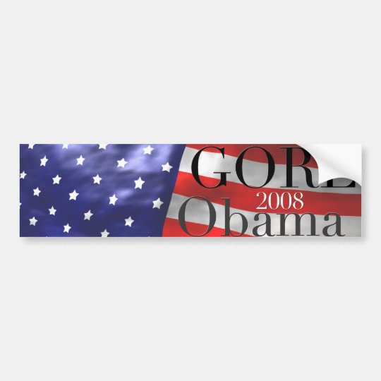 GORE Obama 2008 Bumper Sticker