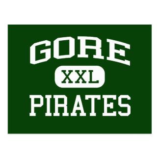 Gore - Pirates - Gore High School - Gore Oklahoma Postcard