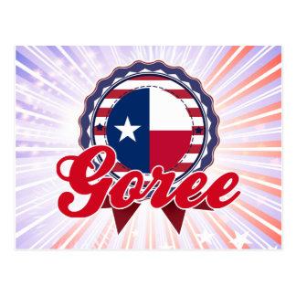Goree, TX Postcard