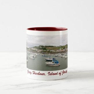 Gorey Harbour, Jersey mug 1