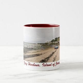 Gorey Harbour, Jersey mug 2