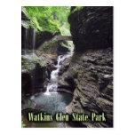 Gorge at Watkins Glen State Park, New York. Postcards