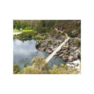 Gorge Bridge Canvas Canvas Print
