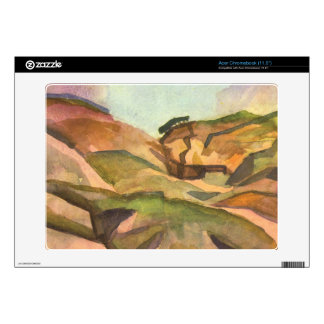 Gorge by August Macke Acer Chromebook Skins