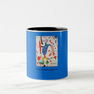 Gorge doddmangallery.com Two-Tone coffee mug