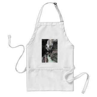 Gorge in Germany Adult Apron