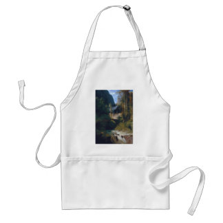 Gorge near Amalfi - 1831 by Carl Blechen Adult Apron