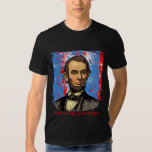 Gorgeous Abraham Lincoln Art Tee Shirt