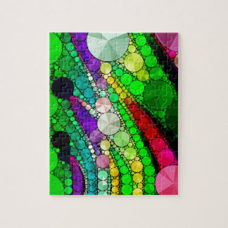 Gorgeous Abstract Bling Pattern Jigsaw Puzzle