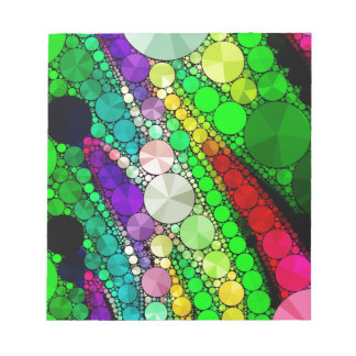 Gorgeous Abstract Bling Pattern Notepad