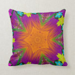 Gorgeous Abstract Flower Throw Pillow