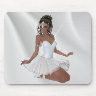 Gorgeous African American Ballerina Mouse Pad