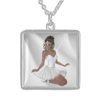 Gorgeous African American Ballerina Necklaces