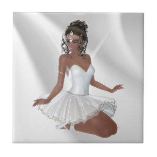 Gorgeous African American Ballerina Tile