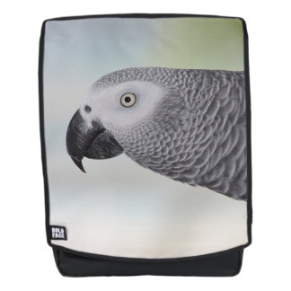 Gorgeous African Grey Parrot Backpack