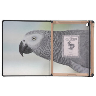 Gorgeous African Grey Parrot iPad Cases