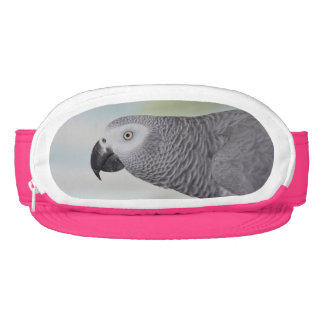 Gorgeous African Grey Parrot Visor