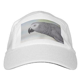 Gorgeous African Grey Parrot Headsweats Hat