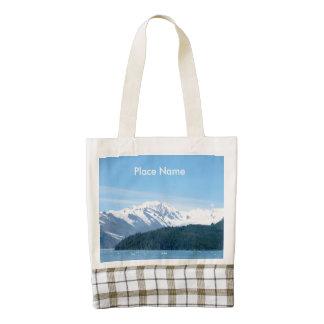 Gorgeous Alaska Zazzle HEART Tote Bag