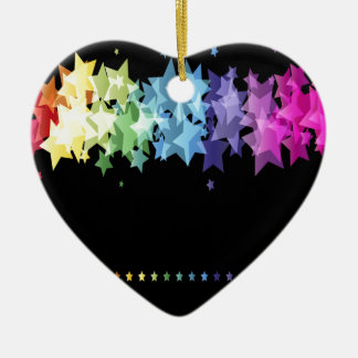 Gorgeous and Colorful Stars Christmas Tree Ornament