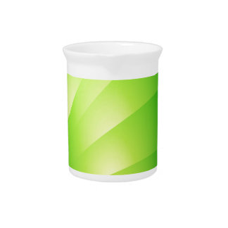 Gorgeous and Intense Green Beverage Pitcher