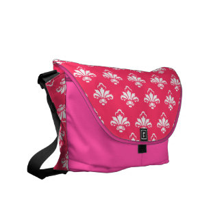 Gorgeous and stylish Damask Pattern Courier Bag