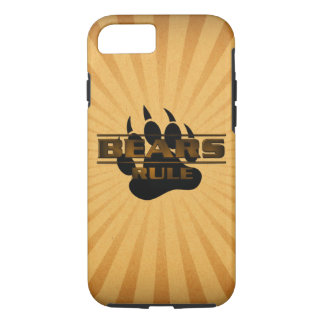 Gorgeous and Very Cool Bears Rule Bear Paw iPhone 8/7 Case