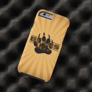 Gorgeous and Very Cool Bears Rule Bear Paw Tough iPhone 6 Case