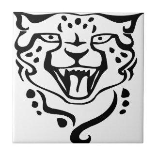 Gorgeous and Wild Cheetah Ceramic Tile