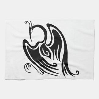 Gorgeous and Wild Crane Kitchen Towel