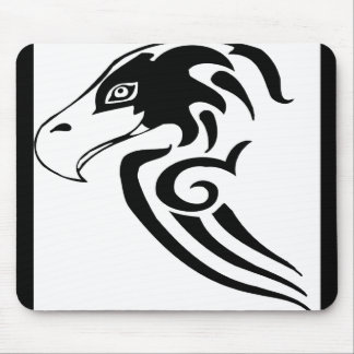 Gorgeous and Wild Hawk Mouse Pad