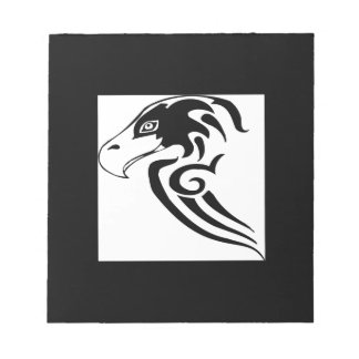 Gorgeous and Wild Hawk Note Pad